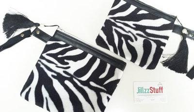 Zebra tasje klein