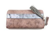 Luxe-portemonnee-poederroze
